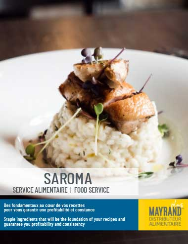 Saroma Flyer |  Mayrand Plus